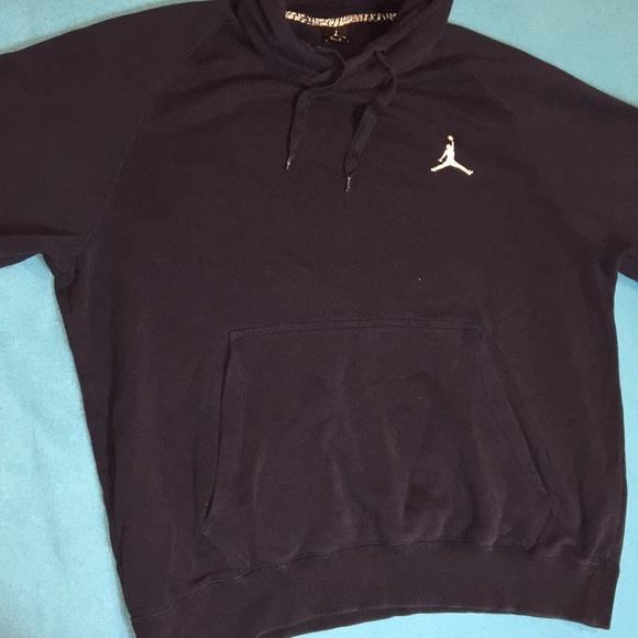 50ed24d1d57e1e Jordan Other - Large Jordan Hoodie Dark Blue